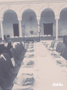 Homenaje Padre Javier con Catering Manabrán
