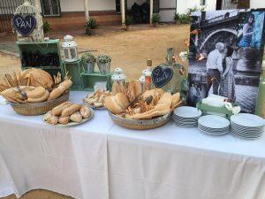 Boda Fran y Gemma en Bollullos de la Imitacion con Catering Manabran